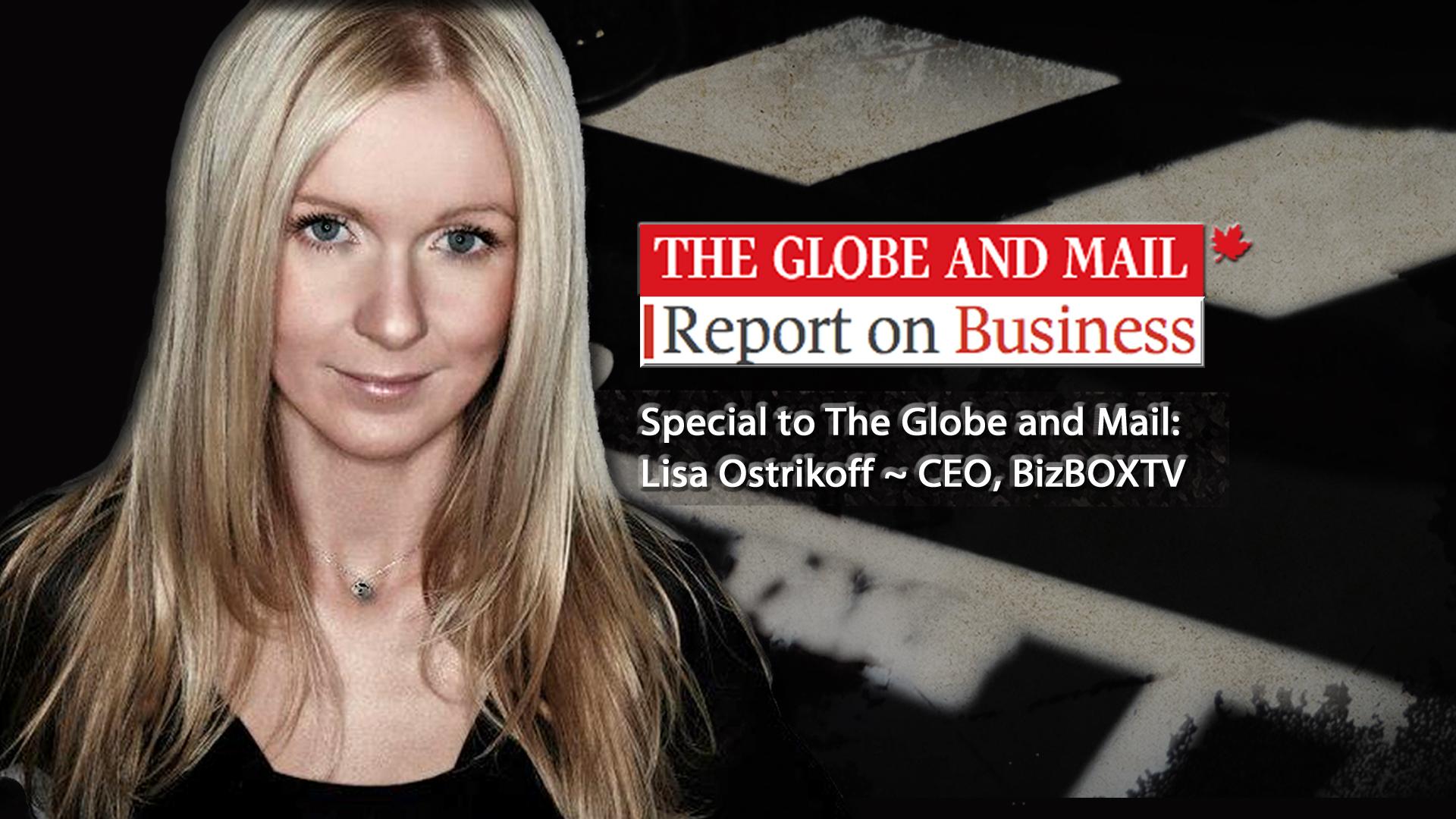 Online Video Production Calgary Toronto Vancouver Lisa Ostrikoff BizBOXTV